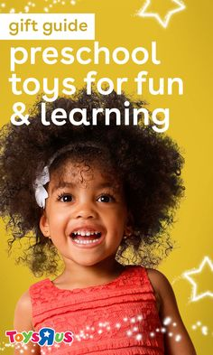 Preschool toys are a lot of fun these days. Don't believe us? Just take a look at these gift ideas for the littler learners on your list. We get excited just lookin' at them!