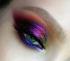 ojos make-up lidschatten , Makeup Goals, Makeup Inspo, Makeup Art, Makeup Inspiration, Makeup Tips, Beauty Makeup, Makeup Tutorials, Eye Makeup Glitter, Glowy Makeup