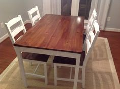 """Ok, so """"Dream Dining Room"""" is a little bit of an exaggeration. I do NOT have my dream dining room… yet. But I am a lot closer than I was. Dining rooms are difficult. At least i…"""