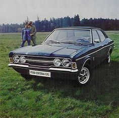 1972 Ford Cortina MK111 GXL 4 Door Sedan. It was a popular model all round the World for the Ford Co. Origin: England