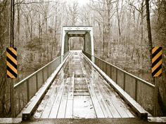 A old bridge in a State Park in Southern Tennessee.