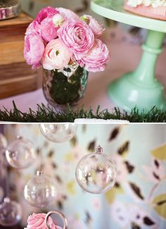Spring Baby Sprinkle Umbrella Shower - Kara's Party Ideas - The Place for All Things Party Baby Shower Fun, Girl Shower, Shower Party, Baby Shower Parties, Baby Shower Gifts, Baby Gifts, Baby Sprinkle, Sprinkle Shower, Sprinkle Party