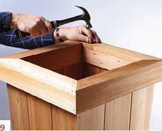 How to Build a Planter: Simple DIY Woodworking Project