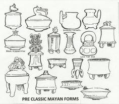 %238+Pre-Classic+Mayan+Forms.jpg 1,600×1,400 pixels