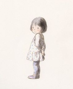 Chiaki Okada i think pencil colour or if not just illustrations.