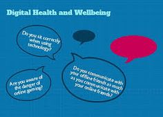 The effects of advantages of digital health and wellbeing