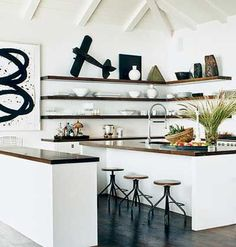 wood counters, wood open