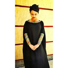 Habesha Fashion Friday!! Haven't you ever wishes that abayas had habesha tibeb/tilfe designs so that you could wear it to a melse/melsi to honor your habesha heritage? Well we found a designer who does just that Introducing @coyette_abaya designed by @nadu_mohammed! These tibeb/tilfe designed abayas are so beautiful and delicately made ❤️ to see more designs and inquire about pricing check out @coyette_abaya ! We will share a few of our favorite habesha inspired abaya designs ❤️ Photo co...