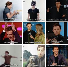 Tom Holland is...