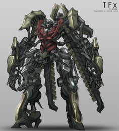 Movie Dinobots Concept Artwork by Xylac Industries - Transformers News - TFW2005