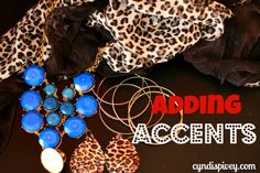 Adding accents: Fashion & Beauty for women over 40
