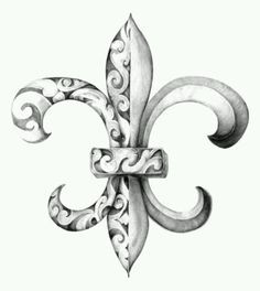 Want as a tattoo --fleur de lis --French heritage