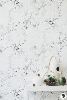 Marble Wallpaper / Traditional or Removable Wallpaper / Marble Wall Mural Removable Wallpaper, Marble Wall, Marble Wall Mural, Wallpaper, Wall Murals, Mural Wallpaper, Print Wallpaper, Marble Pattern, Marble Wallpaper