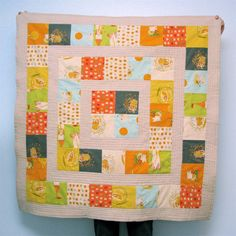 FINITO! Storytime Squares Quilt in Far Far Away II - Made By Rae FREE Pattern, and Tutorial!