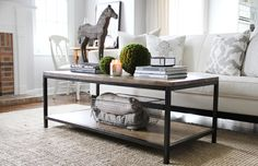 How to style a coffee table http://us.sofa.com/blog/comfy-lifestyle/how-to-style-a-coffee-table
