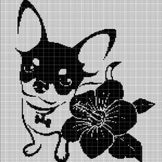 Digital computer model - not printed on paper This is a pattern only Not a kit or finished piece No fabric or floss are included in this listing Stitch Counts Love Crochet, Crochet Flowers, Cross Stitch Charts, Cross Stitch Patterns, Crochet Crafts, Crochet Projects, Frozen Crochet, Giraffe Crochet, Cute Chihuahua