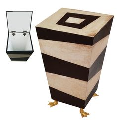 awesome accent table! Tim Burtonesque!
