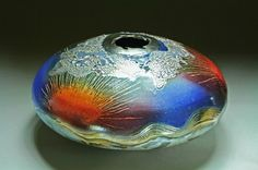 steven forbes pottery   Raku pottery by Steven Forbes deSoule