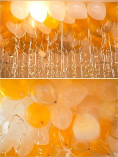I think this balloon decor display is just magical.