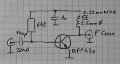 1090 Low Noise preamp - ~17dB gain