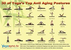 Anti Aging Yoga Poses