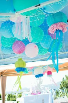 Mermaid Princess Party via Kara's Party Ideas #mermaid #party #planning #idea #decorations #birthday #girl (18)