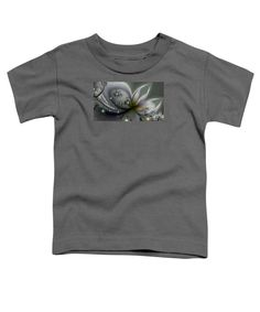 Purchase a toddler t-shirt featuring the image of Flutterby by Kimberly Hansen.  Available in sizes 2T - 4T.  Each toddler t-shirt is printed on-demand, ships within 1 - 2 business days, and comes with a 30-day money-back guarantee.