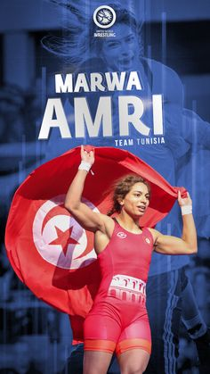 Marwa Amri, 62kg Women's Wrestler. Proud Member of Team Tunisia. Olympic Wrestling, Olympics, The Unit, Photo And Video, Wallpapers, Phone, Instagram, Telephone, Wallpaper