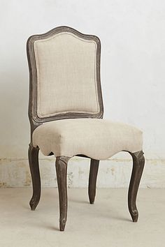 Linen Beatrix Chair  - perfect to go with Modern Farmhouse table........ #Anthropologie #PinToWin