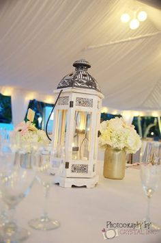 Vintage White Chandeliers for your wedding reception at Key Largo Lighthouse Beach Wedding Venue in the Florida Keys
