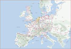 Europa Fietskaart