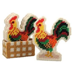 Plastic Canvas Coaster Patterns chickens - Bing images