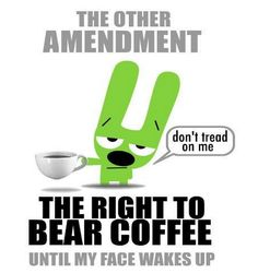Everyone deserves the right to a good cup of coffee! #MrCoffee #coffee #CoffeeLove