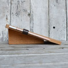 Chalkboard Pad Stand by Peg and Awl by PegandAwl on Etsy