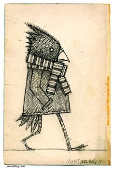 Winter Bird by Jon Carling