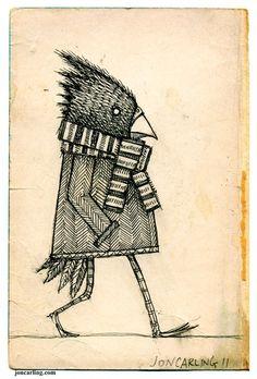 Winter Bird by Jon Carling