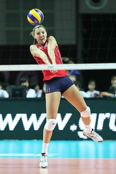 Spotlight: Jordan Larson - Volleyball Slideshows   NBC Olympics