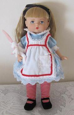 Patsy in Wonderland 13 Inch Tonner Effanbee Doll