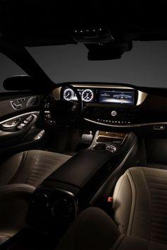 2014 Mercedes S-Class Interior. Mercedes finally spruced up their interior designs.