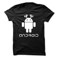 (New Tshirt Coupons) DroiTee Reindeer [Tshirt Sunfrog] Hoodies, Funny Tee Shirts