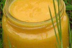 Soupe de rutabaga, carotte, noix de coco et curry