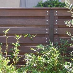 Bolts! Horizontal Privacy Fence Design Ideas, Pictures, Remodel and Decor