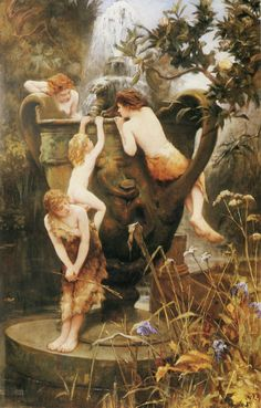 silenceforthesoul:  Charles Napier Kennedy (1852–1898) - The Fountain of Youth, 1892