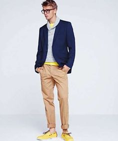 Geek-Chic Menswear Looks - The H Spring 2012 Lookbook is Preppy with a Hint of Class (GALLERY)