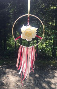 Shopping Mall, Dream Catcher, Girly, Etsy, Vintage, Pink, Handmade, Decor, Handcrafted Gifts