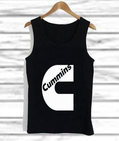 Cummins Logo Dodge Ram Diesel Turbo tank top unisex custom clothing Size S-3XL //Price: $14.99  //