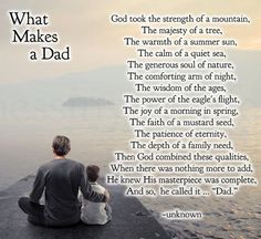 What Makes A Great Dad What Makes Your Childrens Dad Great