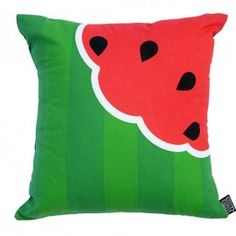 Juicy Watermelon cushion - buy online from cakeswithfaces.co.uk