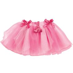 1st Birthday Girl Pink Fabric Tutu