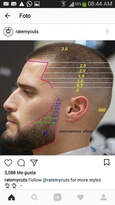 Beard Styles 700661654515147993 - Source by footdeco Barber Haircuts, Cool Haircuts, Haircuts For Men, Beard Styles For Men, Hair And Beard Styles, Hair Cutting Techniques, Gents Hair Style, Hair Barber, Beard Haircut